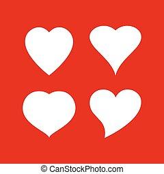 Heart shapes