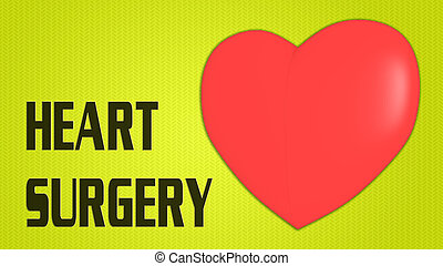 HEART SURGERY concept