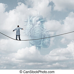 Heart Surgery Medical Risk - Heart surgery medical risk as a...