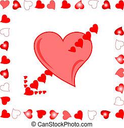heart Target of Amour Arrow