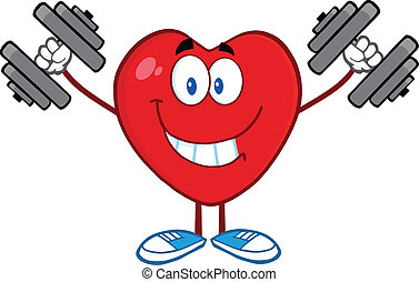 Heart Training With Dumbbells