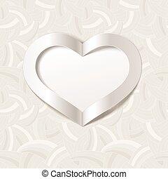 heart., valentine, options., editable, tło, biały, mieszanka, dzień, czerwony