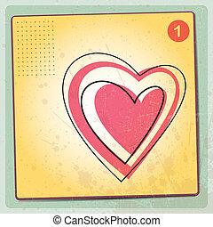 Heart Valentines Day background