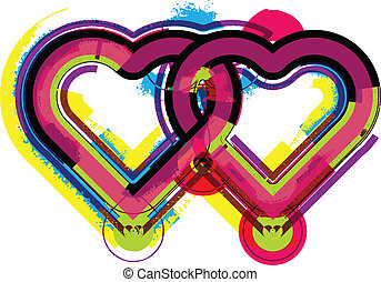 Heart. Vector illustration