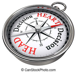 heart vs head decision dilemma - heart versus head decision...