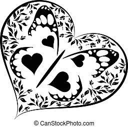 Banana Heart Vector Clip Art Illustrations 624 Banana Heart Clipart