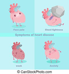 heart with health concept