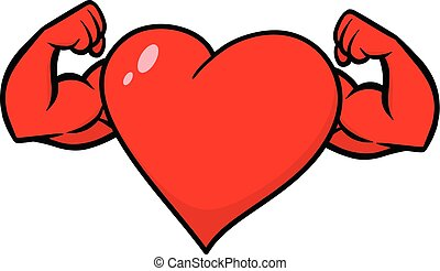Heart with Strong Arms
