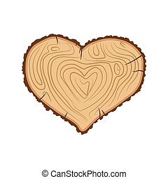 Heart wood. I love tree. Like firewood