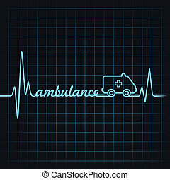 heartbeat make ambulance text