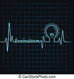 heartbeat make brainstorm word