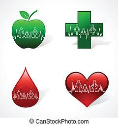 Heartbeat make family icon