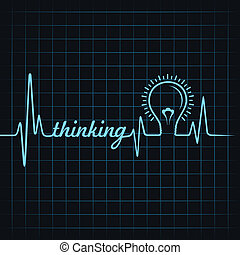 heartbeat make thinking word