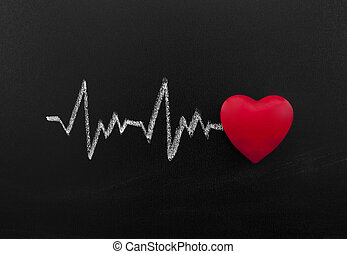 Heartbeat on blackboard