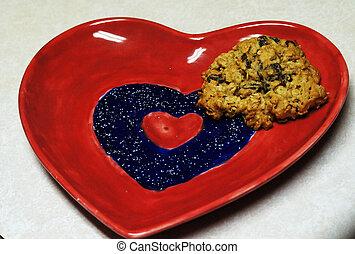 Heart/cookie