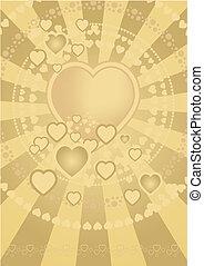 hearts, задний план