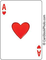 hearts, туз