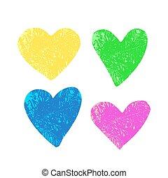 hearts-02, textuur