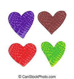 hearts-03, textuur