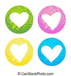 hearts-04, textuur