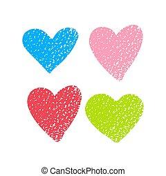 hearts-05, textuur