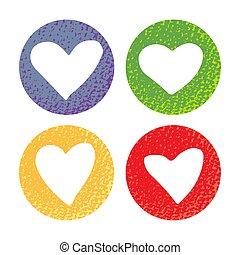 hearts-08, textuur