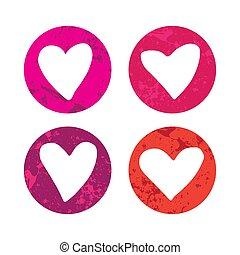 hearts-09, textuur