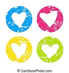 hearts-10, textuur
