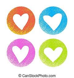 hearts-11, textuur
