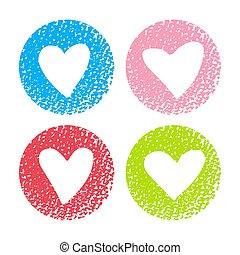 hearts-12, textuur