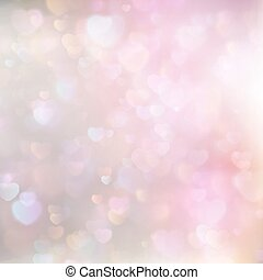 Hearts Abstract Pink Background. EPS 10 - Hearts Abstract...