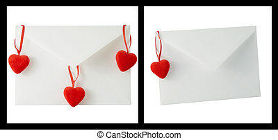 Hearts and letterbox