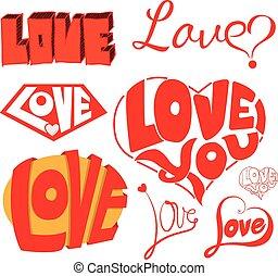 Hearts and love Sketchy