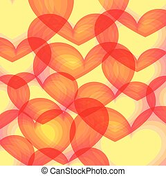 Hearts background