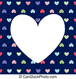 Hearts background, Valentine's day