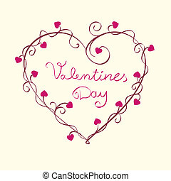 hearts background vector - hearts for valentine background. ...