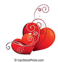 hearts design