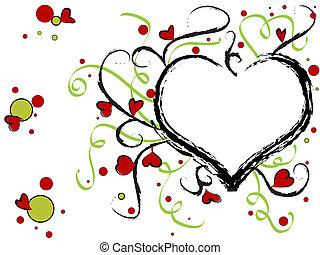 Hearts design - Valentine hearts design