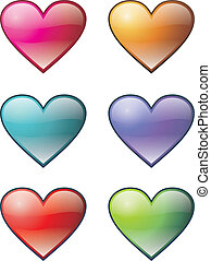 HEARTS ICON SET