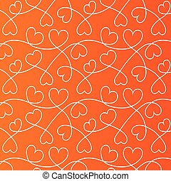 Hearts lines background. Love wallpaper.