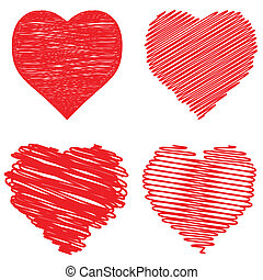 Hearts set.