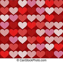 hearts texture design