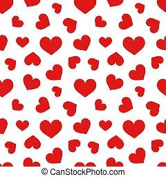 Hearts texture pattern