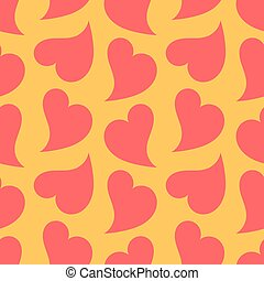 Hearts texture vector
