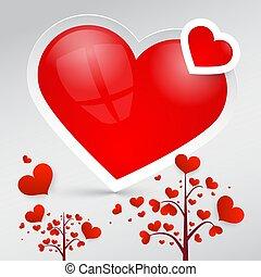 Hearts. Vector Heart Symbols.