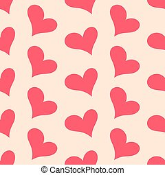 Hearts vector pattern
