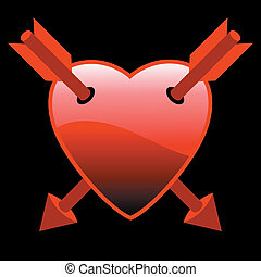 hearts with arrows