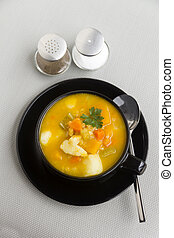 Hearty Vegetable Soup - Delicious waming hearty vegetable ...