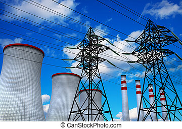 Heat and Power Engineering concept