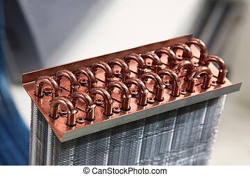 Heat Exchanger - Industrial Cooling Unit Water-to-air Heat...